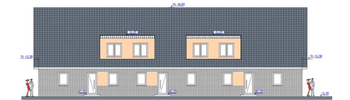 Neubau Wohnhaus Bramsche WE-4-6